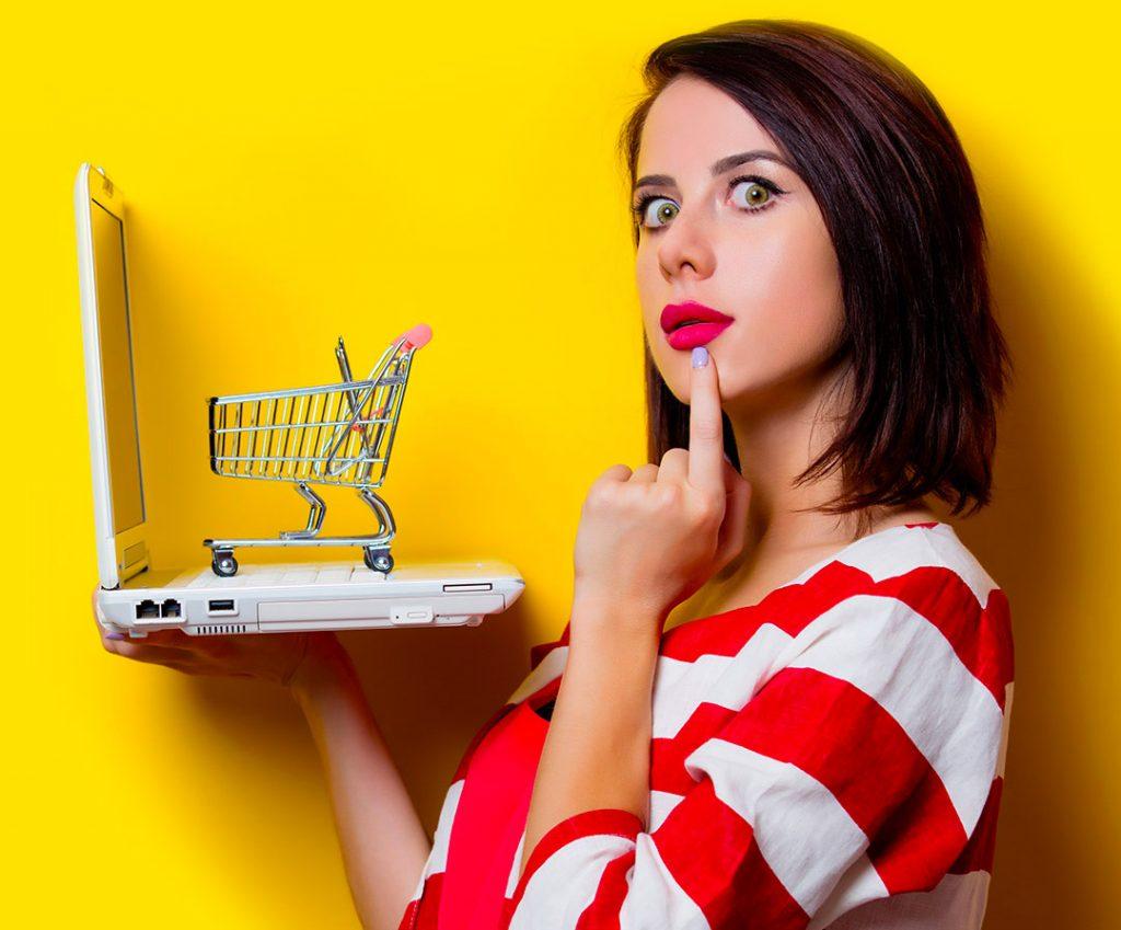 landing e-commerce